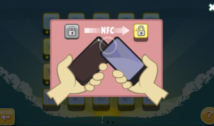 NFC su Angry Birds Magic