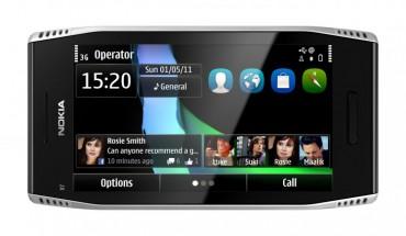 Nokia X7 fronte orizzontale