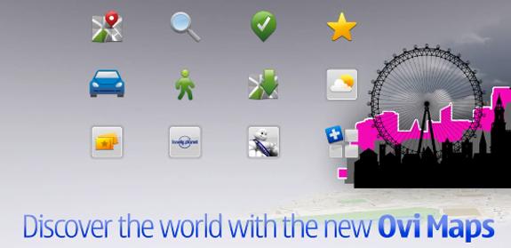 Ovi Maps, il navigatore satellitare gratuito di Nokia