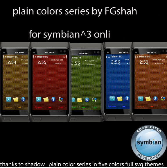 Plain Colors Series by FG Shah