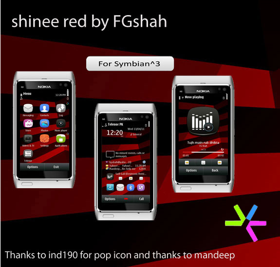 Shinee red by FG Shah