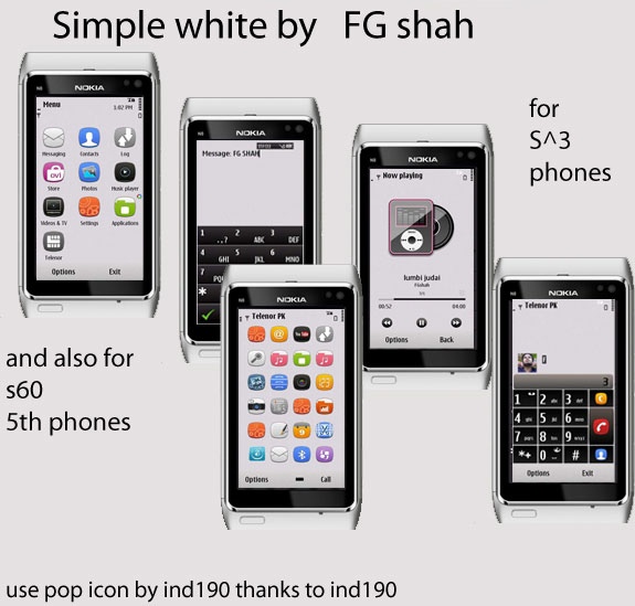 Simple White by FG Shah