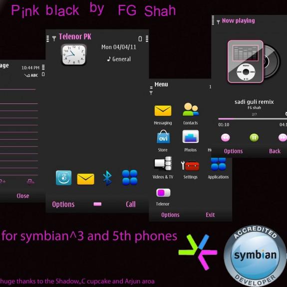 Pink black by FG Shah