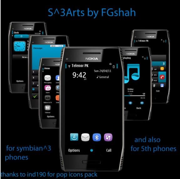 S^3 Arts by FG Shah