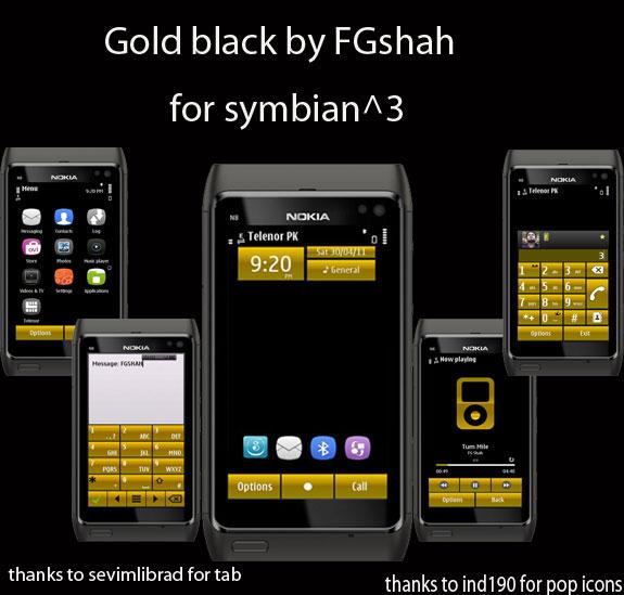 Gold Black by FG Shah