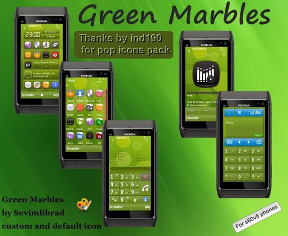 Green Marbles by sevimlibrad