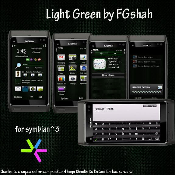 Light Green by FG Shah