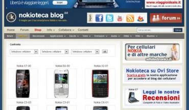 Sezione Device del Nokioteca Blog