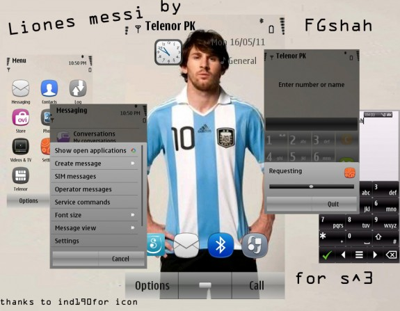 Lionel Messi by FG Shah