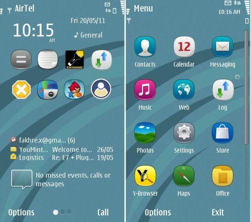 Symbian Next Acqua by NovaG