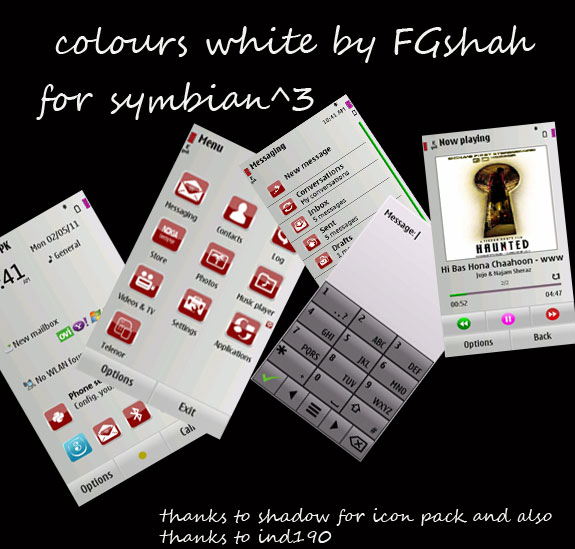 Colours White by FG Shah