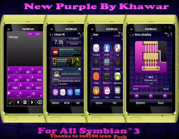 New Purple by Khawar