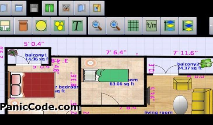 Planeasy 2d progetta la tua casa con il cellulare for Progetta la tua planimetria online