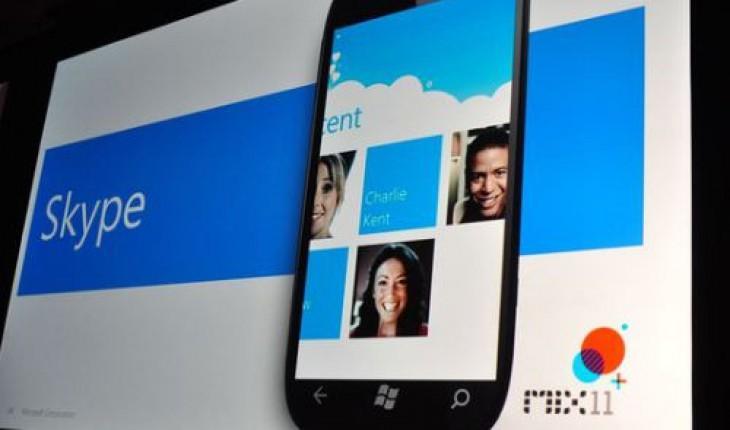 Skype su Windows Phone