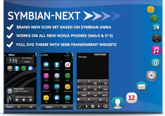 Symbian Next by NovaG