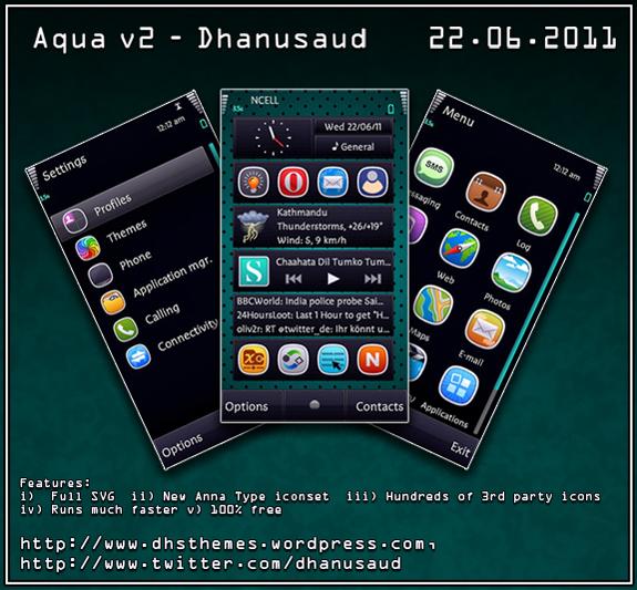 Aqua v2 by Dhanusaud