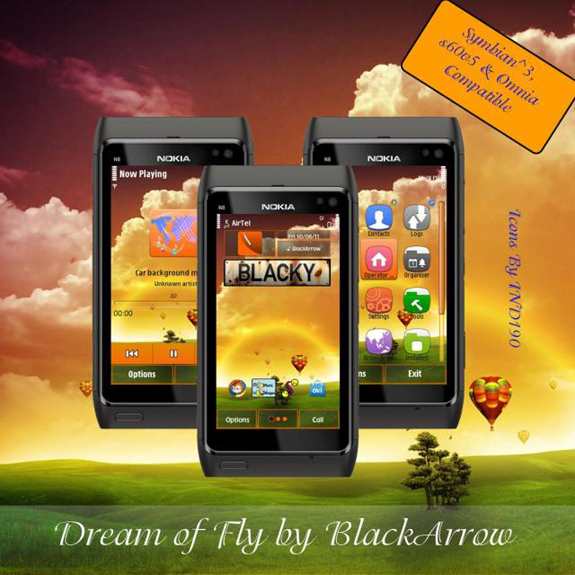 Dream of Fly by BlackArrow