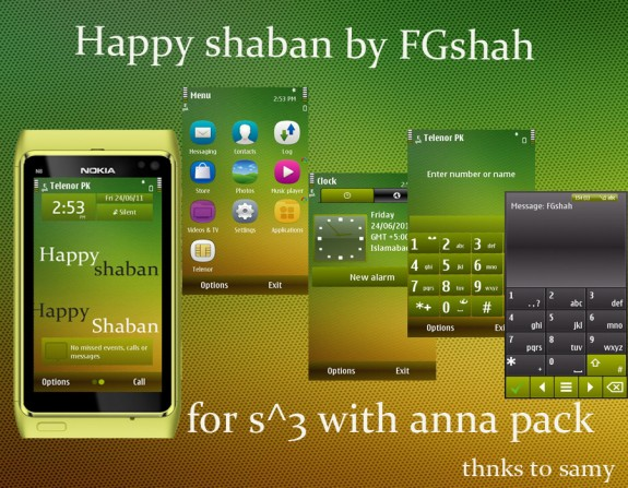 Happy Shaban by FG Shah