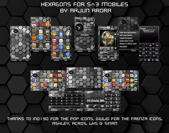 Hexagons 3D by Arjun Arora