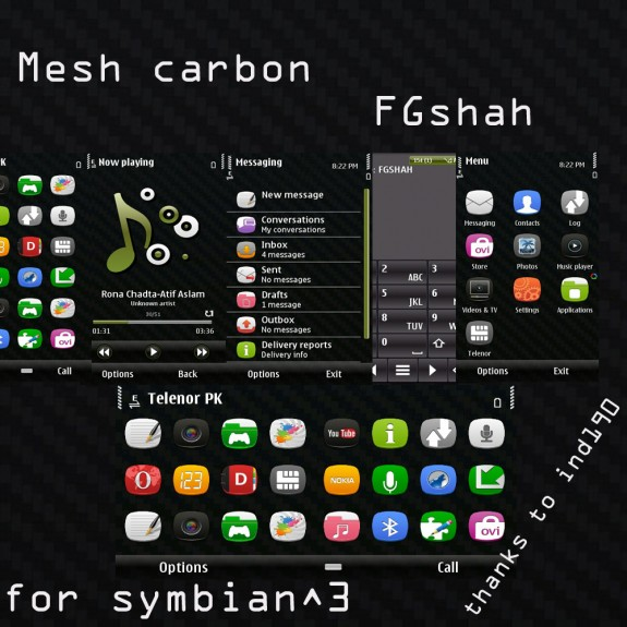 Mesh Carbon by FG Shah