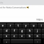 Nokia N9 - Tastiera