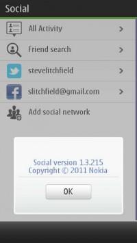 Nokia Social v1.3.215 per Symbian^3