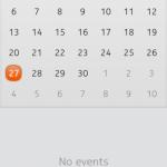 Nokia N9 - Calendario