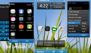 Symbian^3 by FG Shah