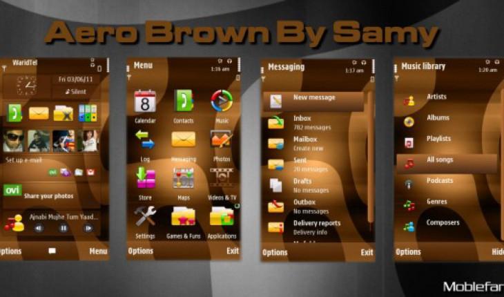 Aero Brown by Samy