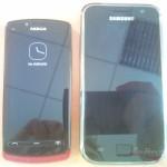 Nokia 700 e Samsung