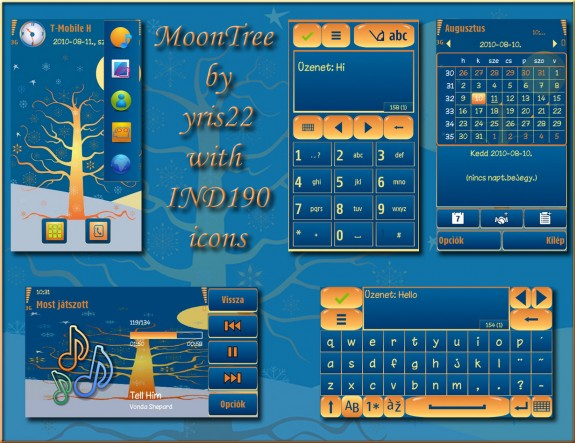 Moon Tree by Yris22