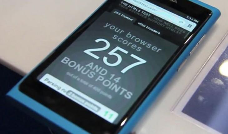 Nokia N9 Browser
