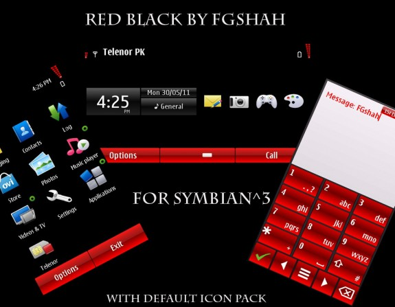 Red Black by FG Shah