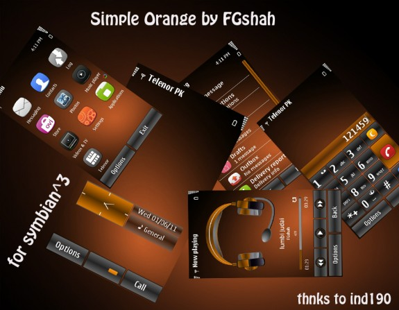 Simple Orange by FG Shah