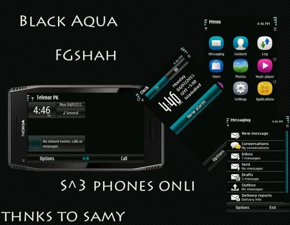Black Aqua by FG Shah