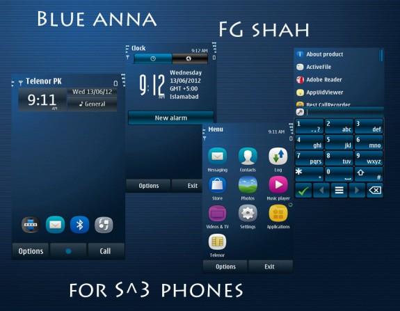Blue Anna by FG Shah