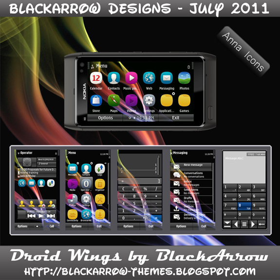 Droid Wings by BlackArrow