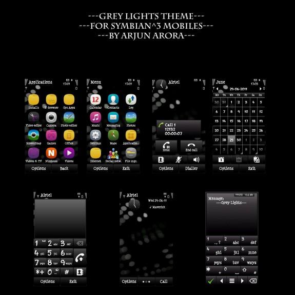Grey Lights by Arjun Arora