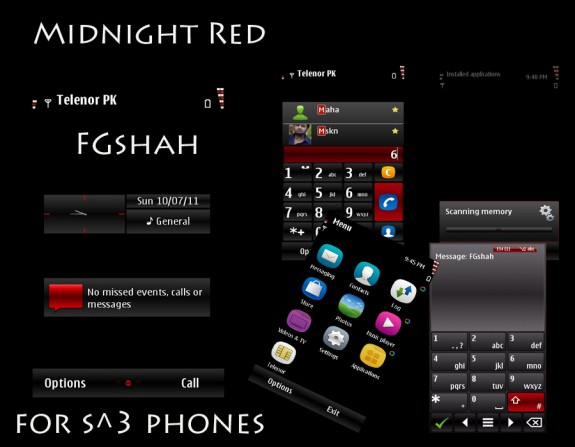 Midnight Red by FG Shah