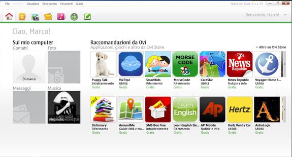Nokia Ovi Suite 3.1.1.75