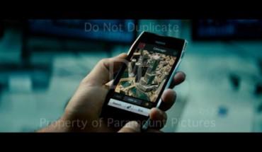 Nokia X7 in Transformers 3