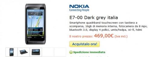 Nokia E7-00 in Offerta su cellulare.net