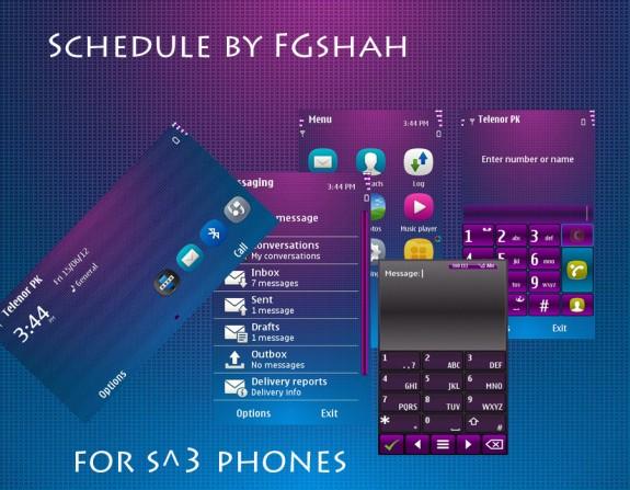 Schedule by FG Shah