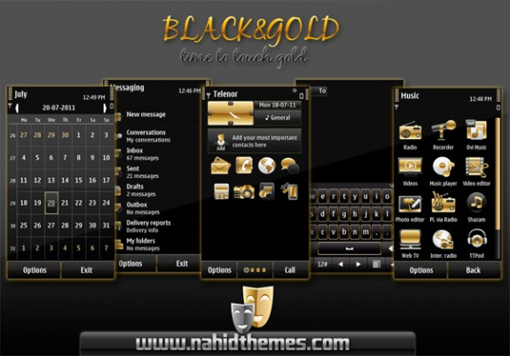Black&Gold by Nahid