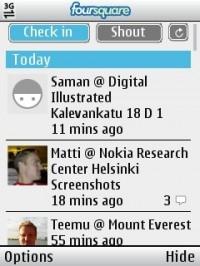 Foursquare per S40
