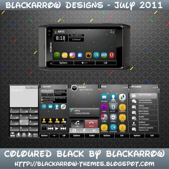 Coloured Black by BlackArrow