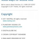Nokia Mappe Web su Android