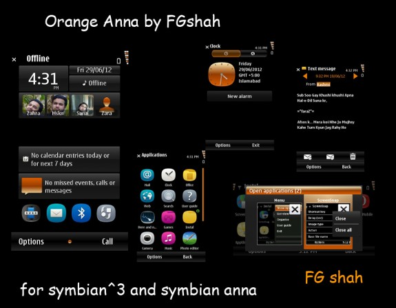 Orange Anna by FG Shah
