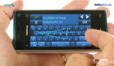 Swype on Nokia Symbian^3