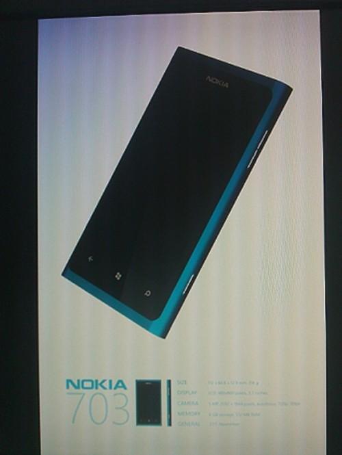 Nokia 703 con Windows Phone OS